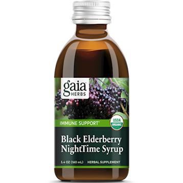 Black Elderberry Nighttime Syrup 5.4 oz