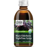 Black Elderberry Nighttime Syrup 5.4 oz Gaia Herbs