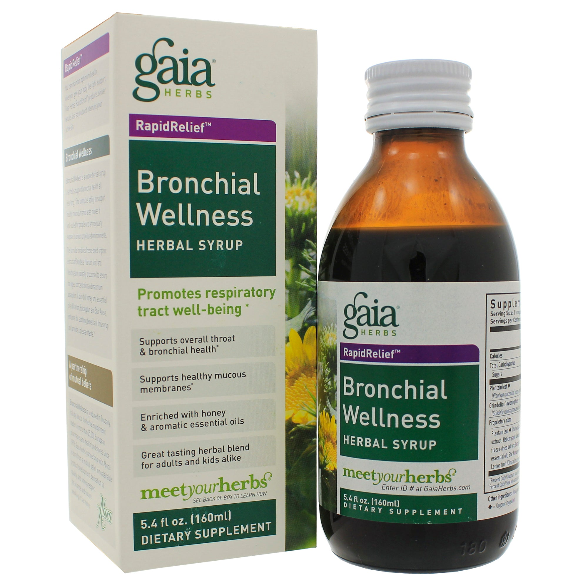 Bronchial Wellness Herbal Syrup (5.4 oz)