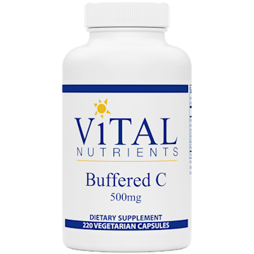Buffered C 500 mg 220 caps Vital Nutrients