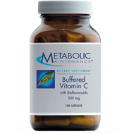 Metabolic Maintenance Buffered Vitamin C 500 mg 100 caps