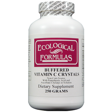 Ecological Formulas Buffered Vitamin C Crystals 250 gms