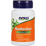 Now Foods Butterbur 75 mg 60 vcaps