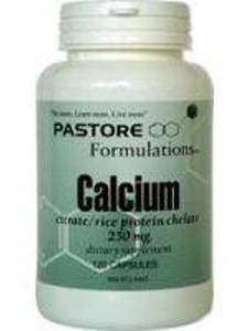 Calcium Citrate 250 mg 120 caps Pastore Formulations