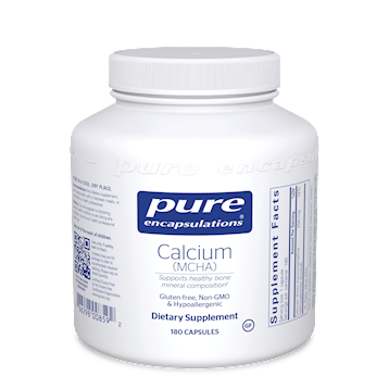 Calcium (MCHA) 180 vcaps Pure Encapsulations