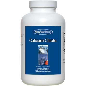 Allergy Research Group Calcium Citrate 150 mg 180 caps