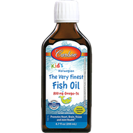 Carlson Labs Carlson for Kids Fish Oil Lemon 200 ml