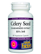 Celery Seed Extract 75 mg 60 caps Natural Factors
