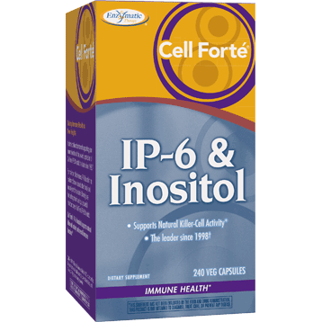 Enzymatic Therapy Cell Forte Ip-6 & Inositol 240 Tabs