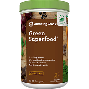 Amazing Grass Chocolate GREENSuperFood 17 oz