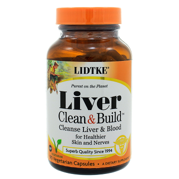 Lidtke-Technologies Cleanse & Build Blood/Liver Cleanser 90c