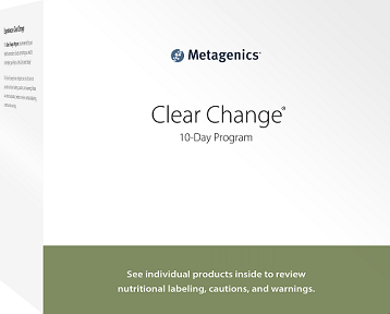 Metagenics Clear Change 10 Day Detox Program with UltraClear Plus Vanilla