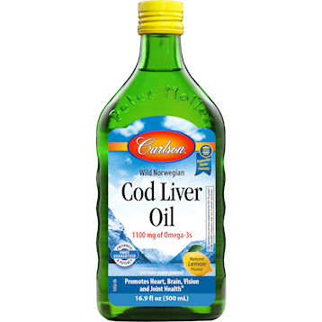 Cod Liver Oil Lemon 500 ml