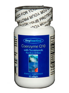 CoEnzyme Q10 with Tocotrienols 30 gels Allergy Research Group