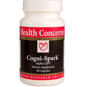 Health Concerns Cognispark 30 caps