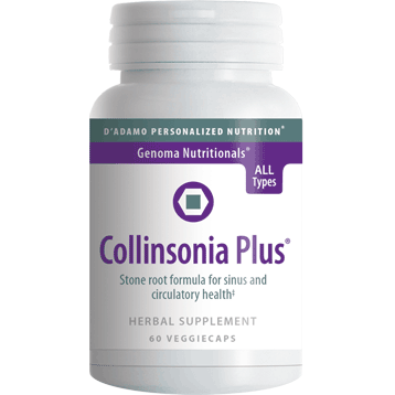 Collinsonia Plus 60 vegcaps		D'Adamo Personalized Nutrition