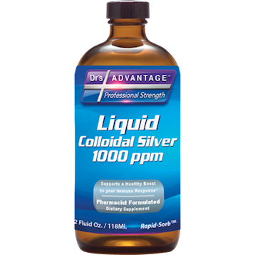 Dr's Advantage Colloidal Silver 1000 ppm 2 oz