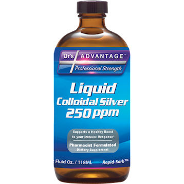 Dr's Advantage Colloidal Silver 250 ppm 2 oz