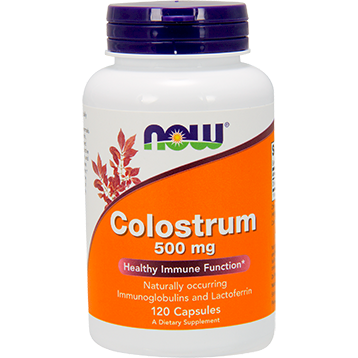 Now Foods Colostrum 500 mg 120 caps