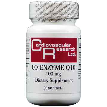 Ecological Formulas CoEnzyme Q10 100 mg 30 gels