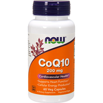 Now Foods CoQ10 200 mg 60 vcaps