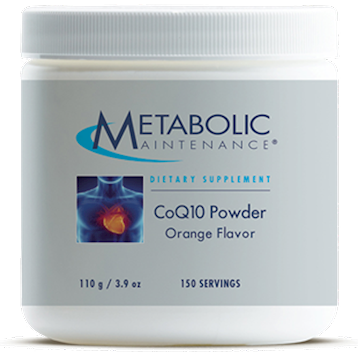 Metabolic Maintenance CoQ10 Powder [Orange Flavor] 110 g