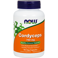 Now Foods Cordyceps 750 mg 90 vcaps