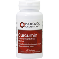 Curcumin 665 mg 60 vcaps Protocol for Life Balance