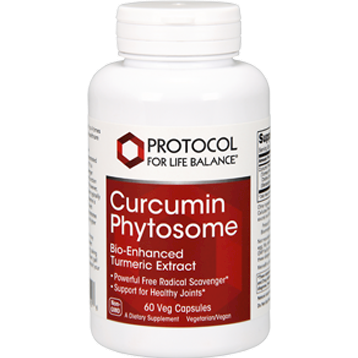 Curcumin Phytosome 60 vcaps Protocol for Life Balance