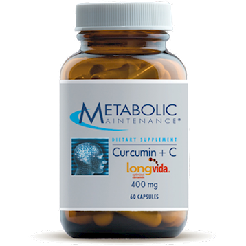 Curcumin + C 60 caps Metabolic Maintenance