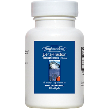 Allergy Research Group Delta-Fraction Tocotrienols 125mg 30gels)