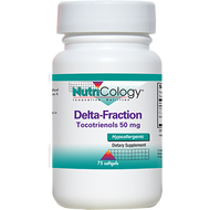 Nutricology Delta-Fraction Tocotrienols 75 gels