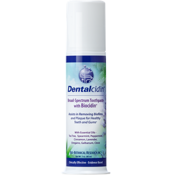 Dentalcidin Toothpaste with Biocidin 3 oz