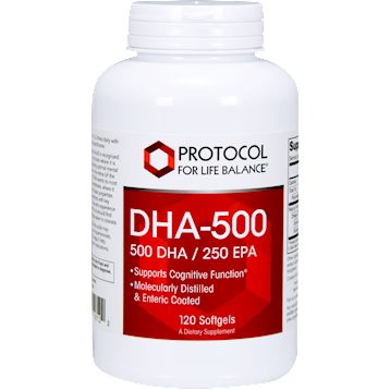 DHA-500 (500 DHA/250 EPA) 120 softgels