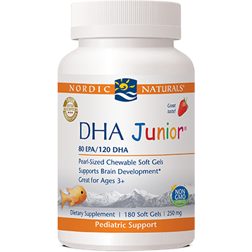 Nordic Naturals DHA Junior - Strawberry 180 gel caps