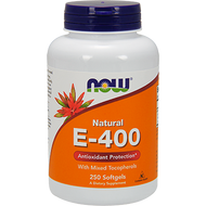 Now Foods E-400 (Mixed Tocopherols) 250 softgels