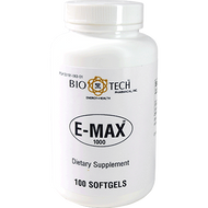 BioTech E-Max 1000 100 softgels