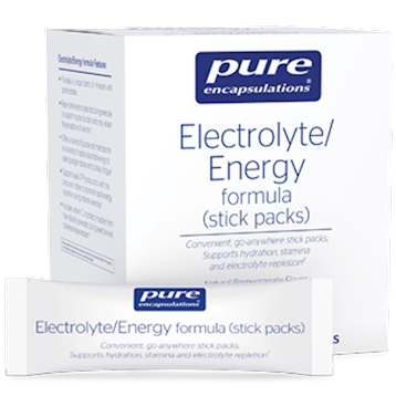 Pure Encapsulations Electrolyte Energy Formula 30 sticks