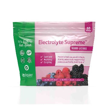 Electrolyte Supreme Berry-Licious 60 packets Jigsaw Health