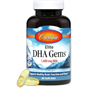 Elite DHA Gems 60 softgels