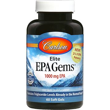 Carlson Labs Elite EPA Gems 60 softgels