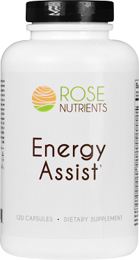 Energy Assist - 120 caps Rose Nutrients