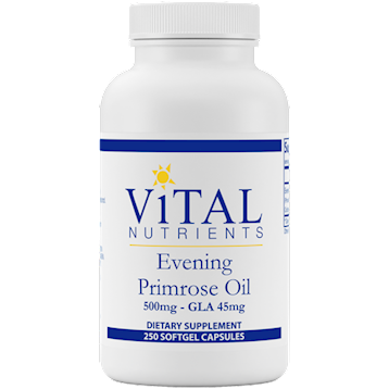 Vital Nutrients Evening Primrose Oil 500 mg 250 gels