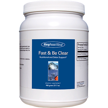 Allergy Research Group Fast & Be Clear 900 gms