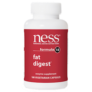 Ness Enzymes Fat Digest #18 180 caps