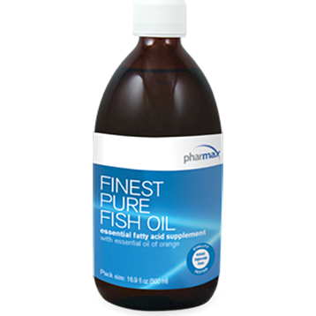 Finest Pure Fish Oil 16.9 fl oz (500 ml)