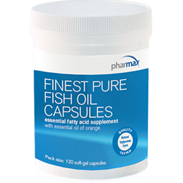 Pharmax Finest Pure Fish Oil 120 softgels