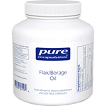 Pure Encapsulations Flax/Borage Oil 250 gels