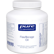 Flax/Borage Oil 250 gels Pure Encapsulations