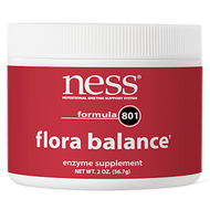 Ness Enzymes Flora Balance #801 powder 2 oz